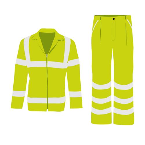 Abbigliamento da lavoro alta visibilità U Power