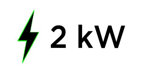 Generatore di corrente 2Kw