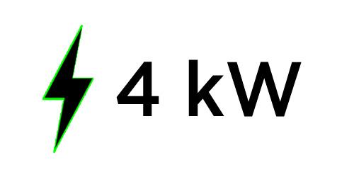 Generatore di corrente 4Kw