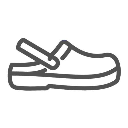 Scarpe antinfortunistiche bianche