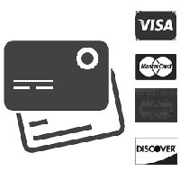 Paga con Carta di credito o prepagata